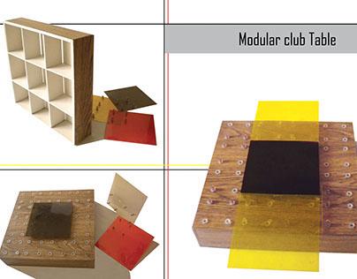 Modular TABLE - SHELF (Maquette)