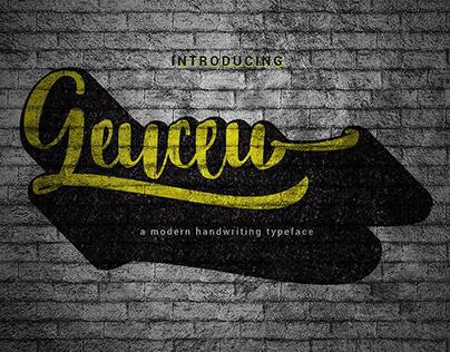 Free Demo - Geuceu Typeface