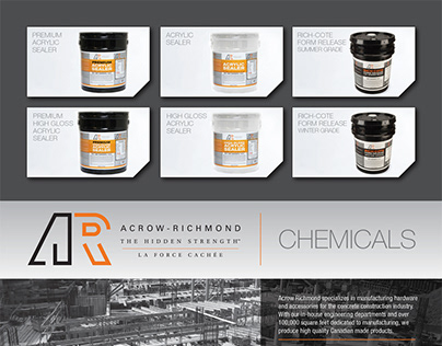 Magazine ad for Acrow-Richmond - Chemicals