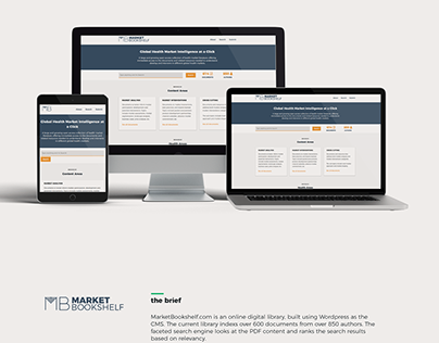 Digital Library - Branding, web dev & media promotion