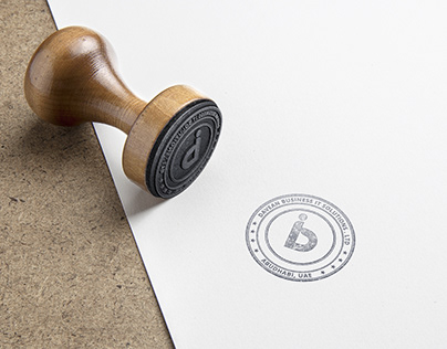 Davean Business IT Stamp Desgn