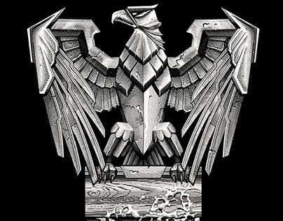 Screen printing eagle
