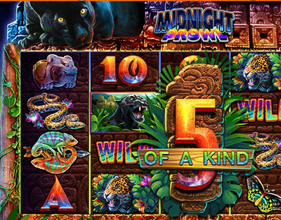 Midnight Prowl mobile casino slot for SciPlay