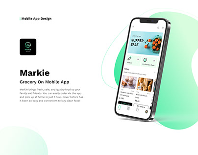Markie - Grocery On Mobile App