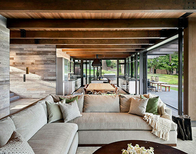 San Juan Island Residence by NB Design Group