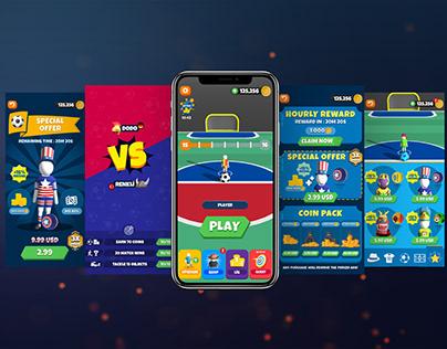 BallBrawl Game UI
