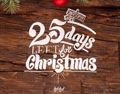 25 Days Of Christmas Countdown