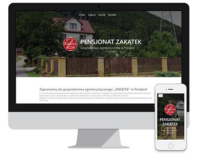 Pensjonat Zakatek - website