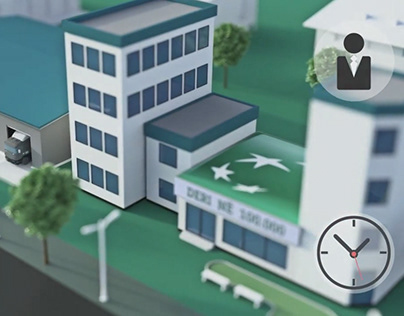3D animation for TEB bank