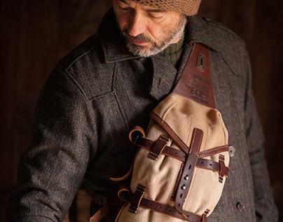 Wearable paniers/saddlebags