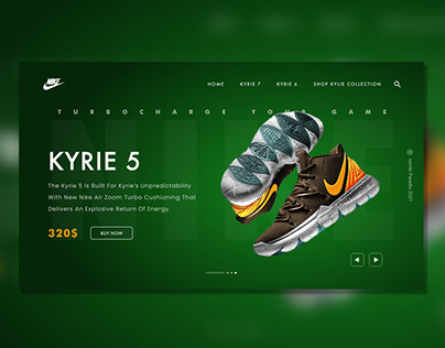 Kyrie Shoes website