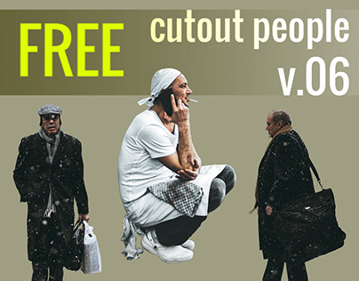 Free Cut Out People Vol. 06