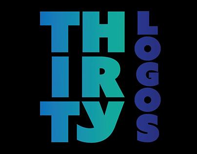 Thirty Logos in 30 Days CHALLENGE. Quick & Fun Design