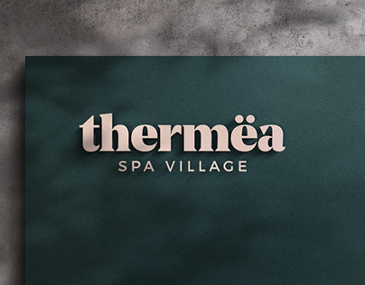 Thermëa spa village | Brand Identity