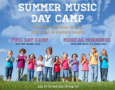 Seattle Girls Choir Promotional Materials