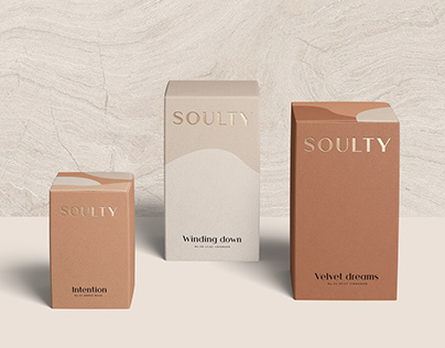 SOULTY / Packaging Design & Branding