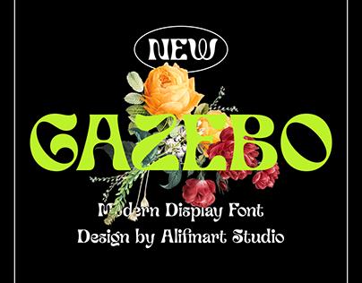 Guyon Gazebo - Display Font