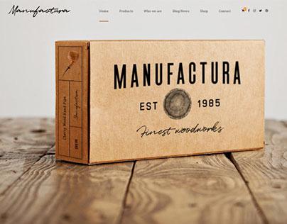 Manufactura – Handmade Products WordPress Theme