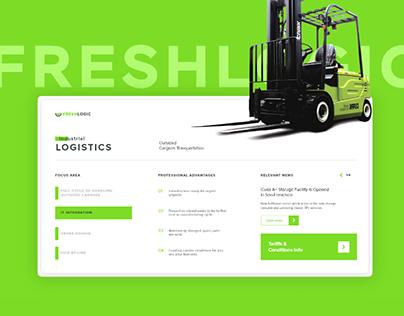 Fresh Logic | Logistics/Fulfillment Corporate Website