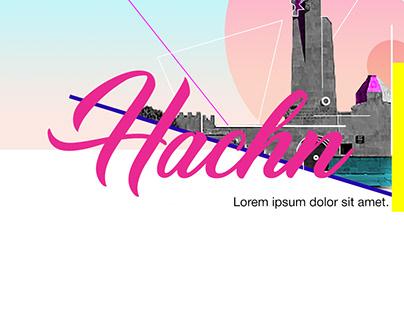 """Hachn"" poster design concept"