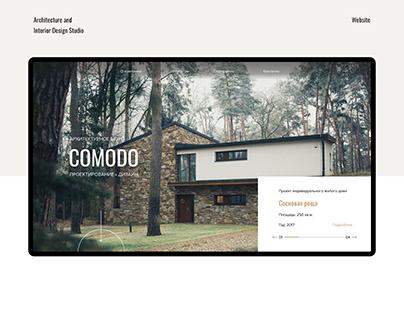 Architecture and Interior Design Studio Website