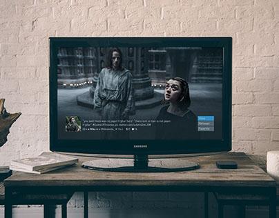 Grid TV - Dashboard on Behance