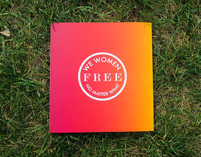 we women FREE no matter what // Letterpress book