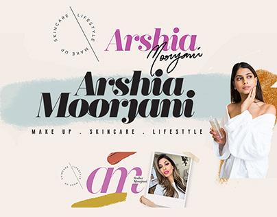 Youtube Banner// Arshia Moorjani