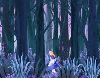 Wood in fairytales
