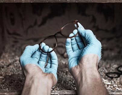 Kampagnenfotos für die Brillenmanufaktur FUNK