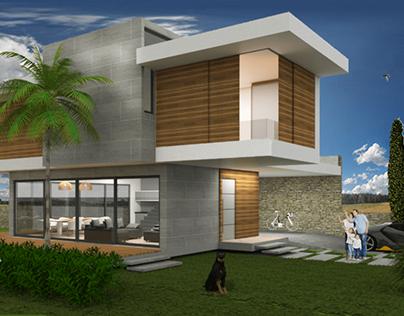 1º Projeto Residencial Unifamiliar