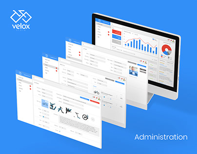 Administration panel - VELOX store