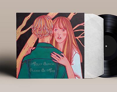 Vinyl & singles cover artworks / Please Be Mine