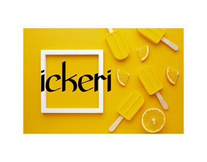 ickeri lowercase font
