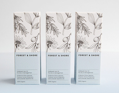 Forest & Shore — Brand identity & Packaging
