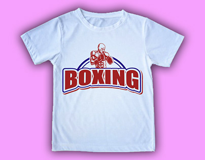 Boxing T shirt Design