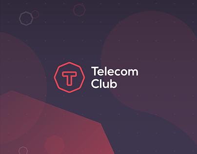 Telecom Club Branding identity