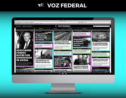 Online Newspaper - Voz Federal