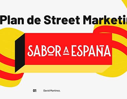 Plan de Street Marketing (Trabajo de muestra)