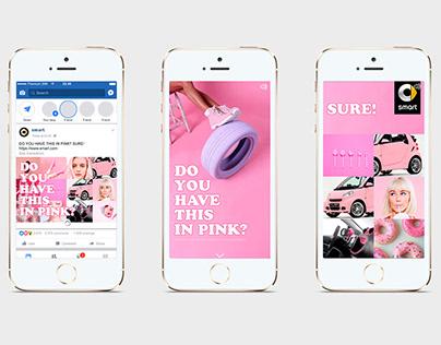 SMART facebook canvas concept