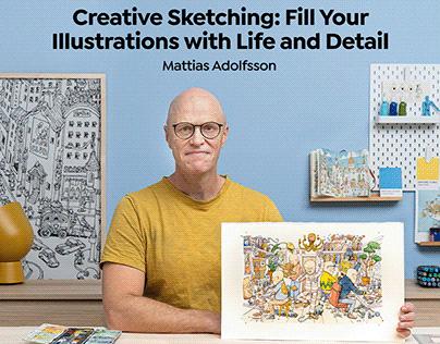 Creative Sketching, Domestika course