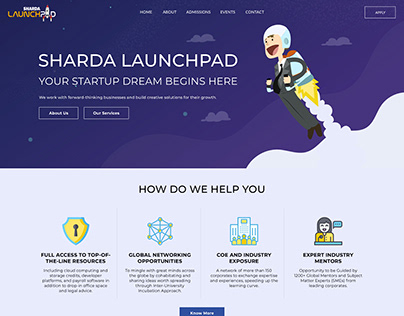 Sharda University Launchpad - A startup Incubation