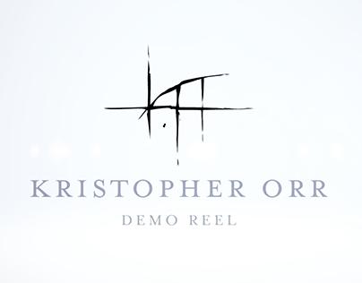 Kristopher Orr Demo Reel
