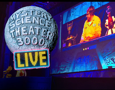 Production Design - Mystery Science Theater LIVE!