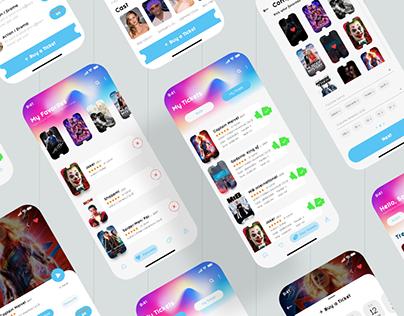 Cinema App | UI kits