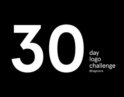 30 Day Logo Challenge - @LogoCore