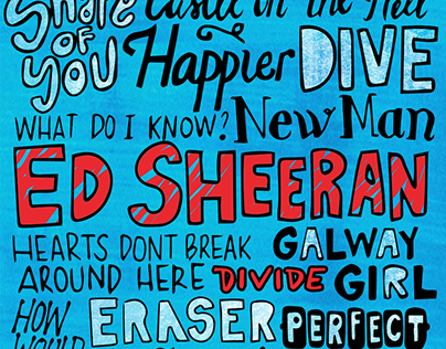 Ed Sheeran Divide Album Fan Art