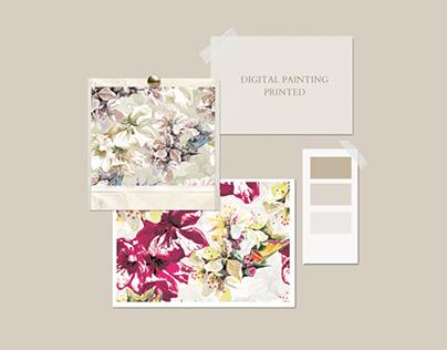 Digital Painting Printed