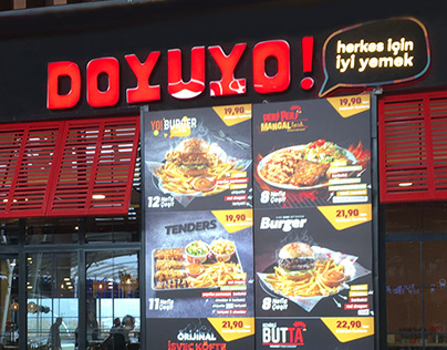 Doyuyo - Food Court Concept