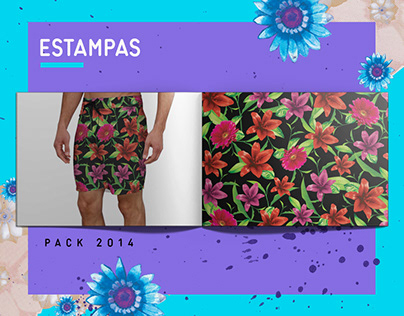 Estampas boardshort - 2014